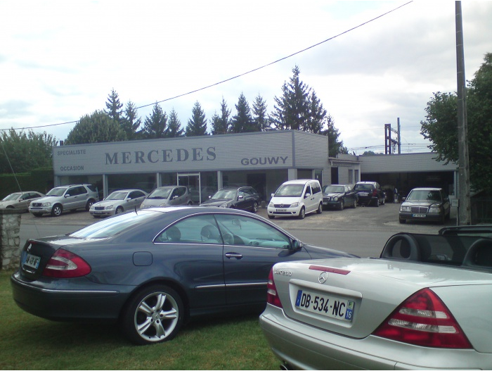 Garage automobile for Garage mercedes bonneuil sur marne